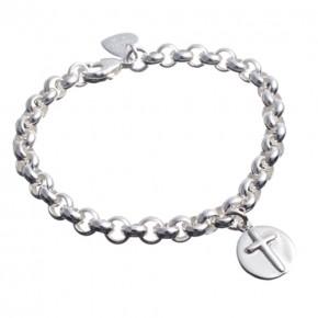 Silberarmband mit Symbolen*