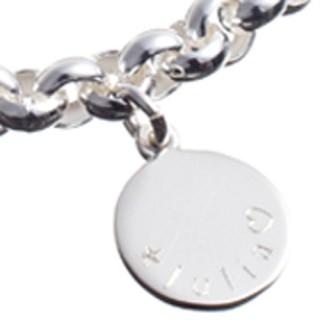 akzeptabler Preis offizieller Verkauf Neuankömmlinge Bettelarmband mit Gravurplättchen*** | Glanzreich