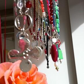 Perlenketten mit Silber